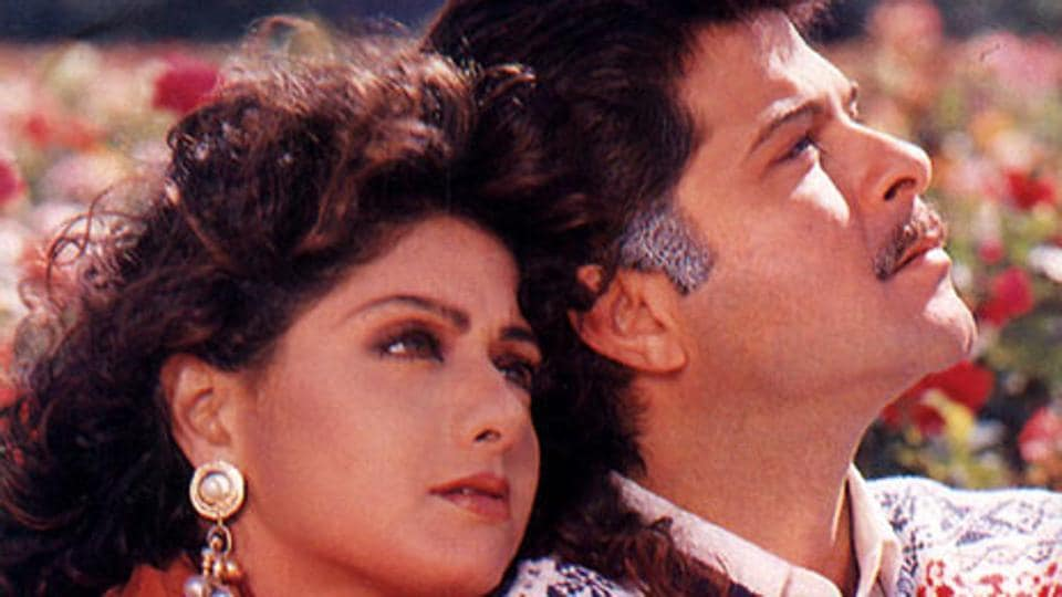 Sridevi shared a great onscreen chemistry with Anil Kapoor.