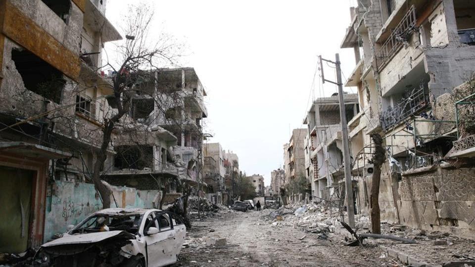 Eastern Ghouta,Syria humanitarian pause,Russia