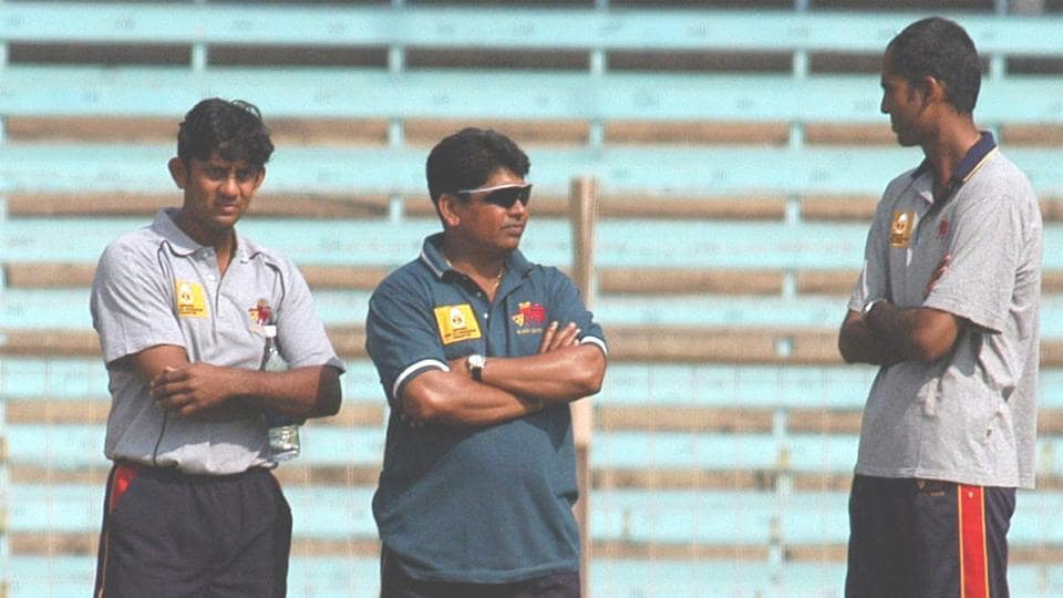 Sairaj Bahutule (L) is the new spin bowling coach of Rajasthan Royals.