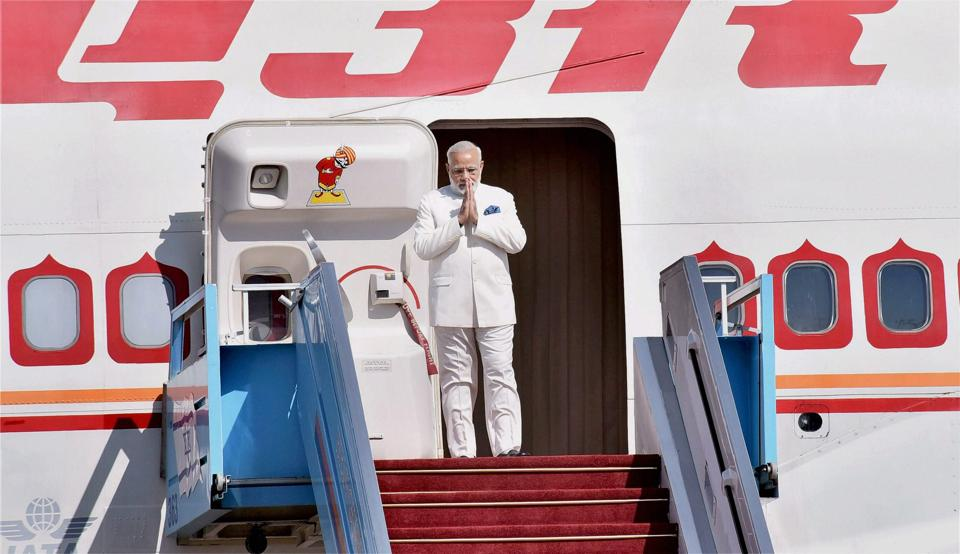 The Central Information Commission (CIC) has directed the external affairs ministry to disclose records related to the expenses incurred on chartering Air India aircraft for abroad visits of the Prime Minister from 2013 to 2017. CIC rejected the contention of the ministry of external affairs that details of the amount, reference numbers, dates of bills raised by Indian Air Force and Air India for the foreign visits undertaken by the Prime Minister are scattered across various records and files. (PTI  File)