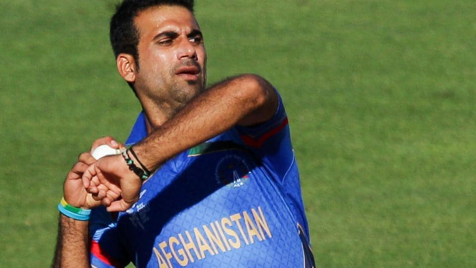 Dawlat Zadran of Afghanistan cricket team finished with outstanding figures of 7-1-26-4 in the ICCWorld Cup qualifier warm-up match against West Indies cricket team in Harare on Tuesday.