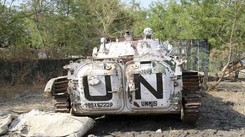 Indian peacekeeping troops,South Sudan,United Nations