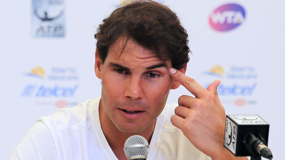Rafael Nadal will return from injury to take part in the ATP Mexico Open tennis tournament.