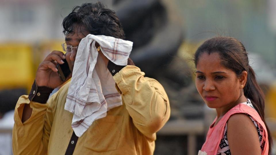 Officials from India Meteorological Department said the temperature was likely to touch 38 degrees Celsius, which is six degrees above normal, on Wednesday and Thursday.