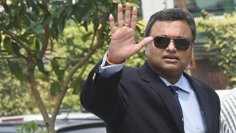 Karti Chidambaram, son of Congress leader and former finance minister P Chidambaram, was arrested by the CBI on Wednesday morning.