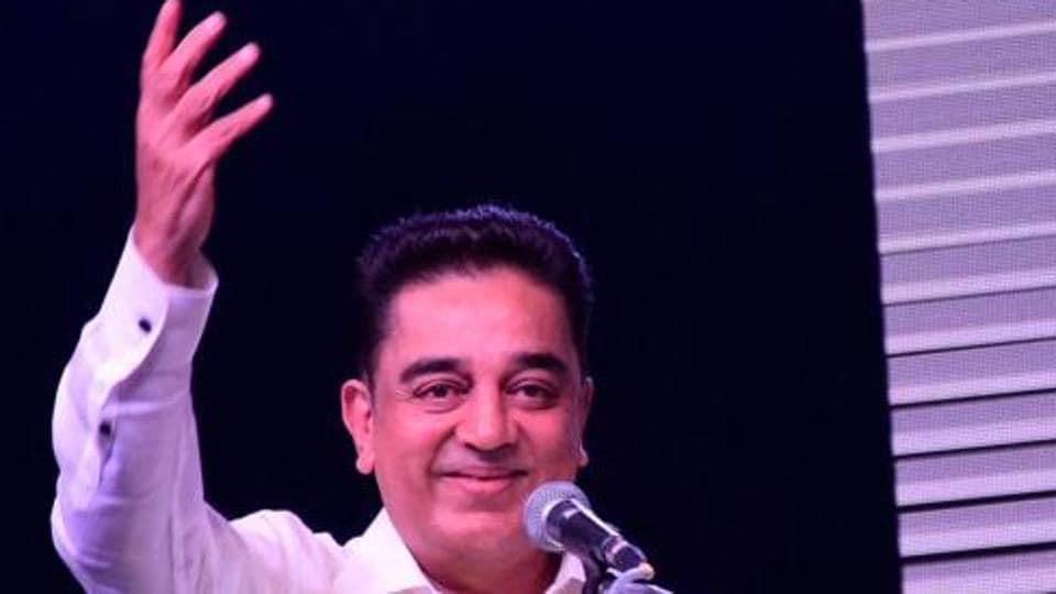 Tamil actor Kamal Haasan formally launched Makkal Needhi Maiam on February 21 in Madurai.