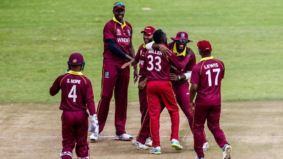 West Indies defeated UAE by 32 runs in their ICC World Cup Qualifiers warm-up encounter in Harare on Thursday.