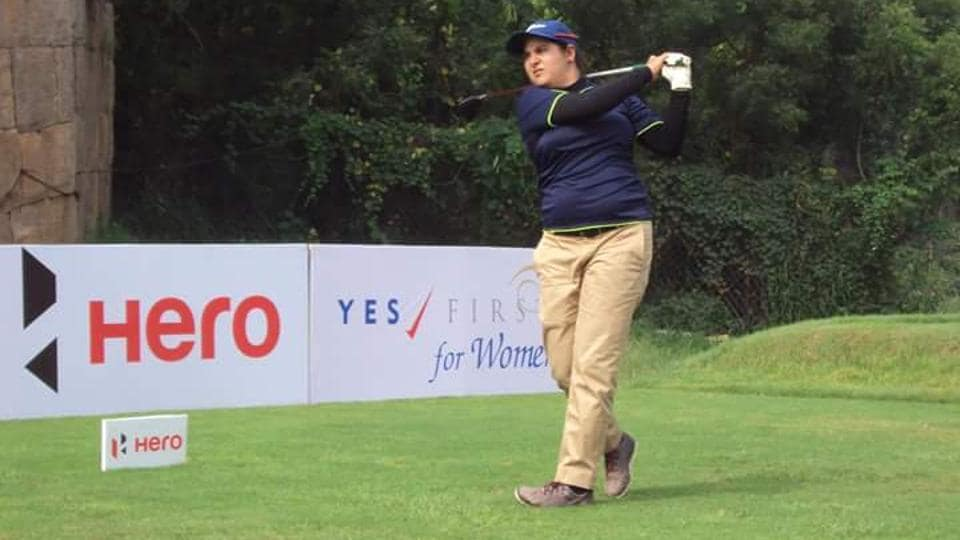 Golfer Amandeep Drall is tied-16th at the New South Wales Open.