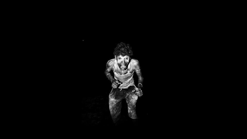 From the series, 'Angst,' 2013- 2017, where Soham Gupta makes stark portraits of people who live on the margins of society in Kolkata. This year, both the title and theme of JaipurPhoto take their inspiration from the classic 1966 song by Simon & Garfunkel – 'Homeward Bound.'   (Courtesy Soham Gupta / JaipurPhoto 2018)