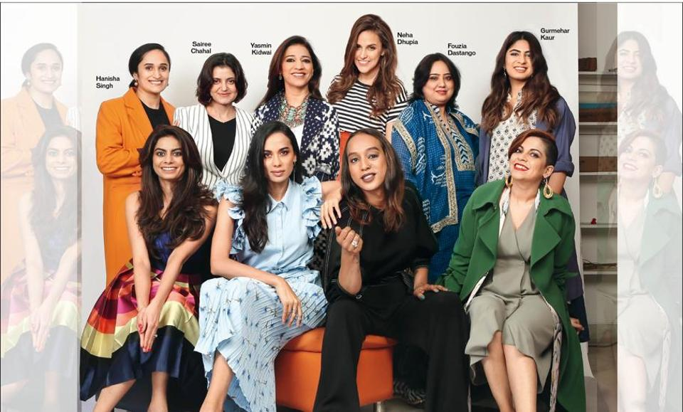 10 accomplished ladies pick the women (as well as one man) who inspired them(Styling by Mia, Tanya Ghavri and Namrata Deepak; make-up and hair by Gaurav Goswami, Thoithoi Thao and Younten Tsomo)