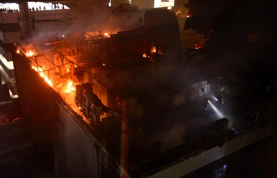 Kamala Mills fire: 2 BMC officers held