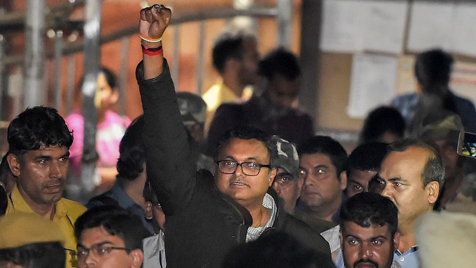 Karti Chidambaram,Karti Chidambaram CBI custody,Karti Chidambaram arrested