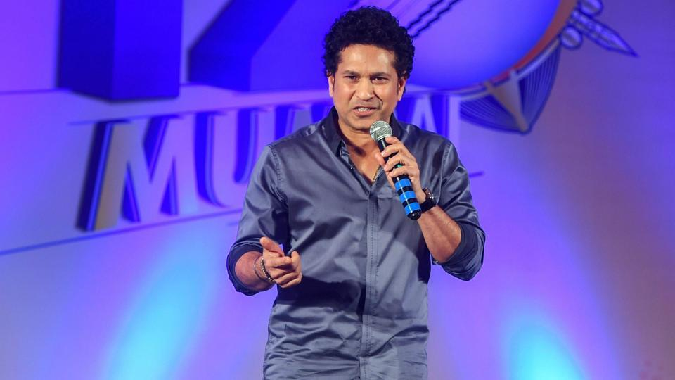 Sachin Tendulkar has been named brand ambassador of the T20 Mumbai League. ( PTI)