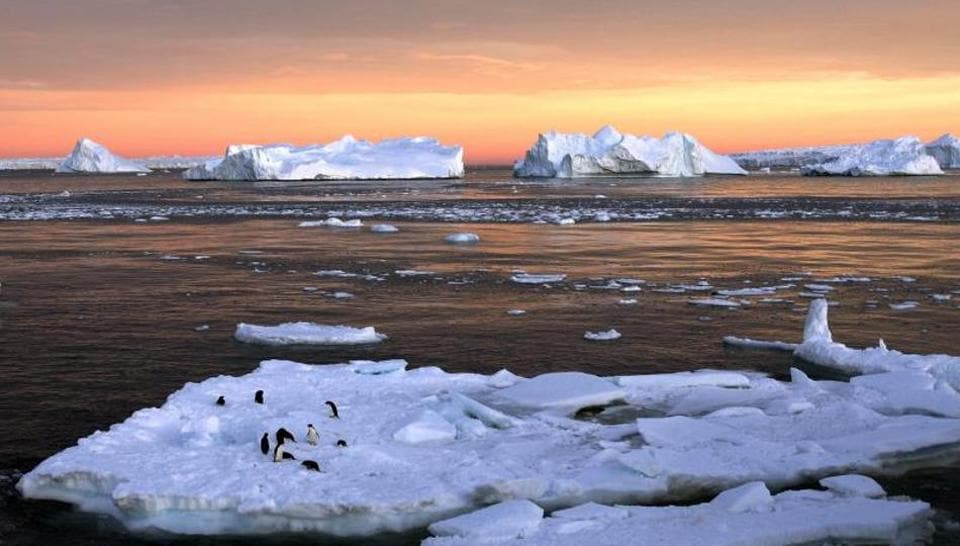 Antartic Sea,Antarctic sea ice,Antarctic sea ice shrinks