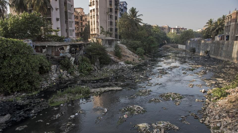 Mithi river has been rated as the most polluted river.