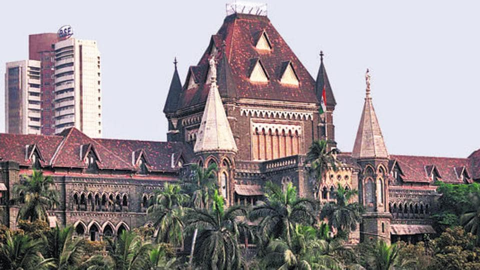 View of Bombay high court building.