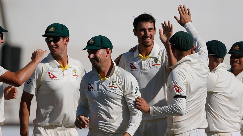 Live cricket score,South Africa vs Australia,1st Test