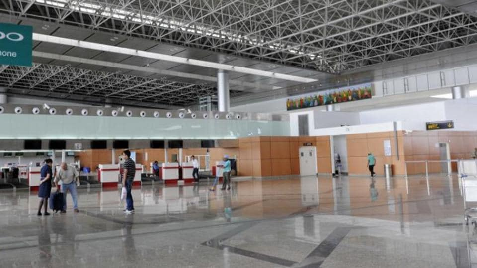 hand baggage tags,baggage tags,Chandigarh airport