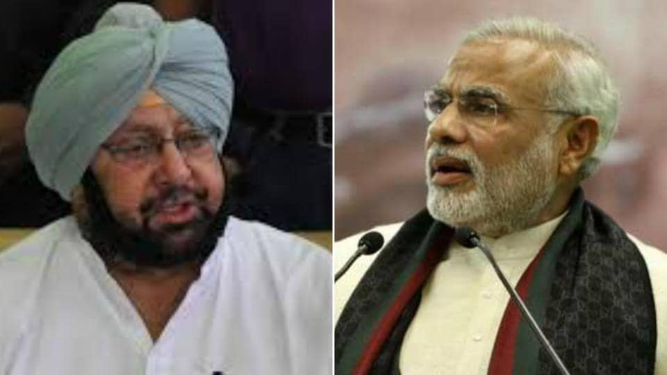 War of words between PM Modi and Capt Amarinder Singh