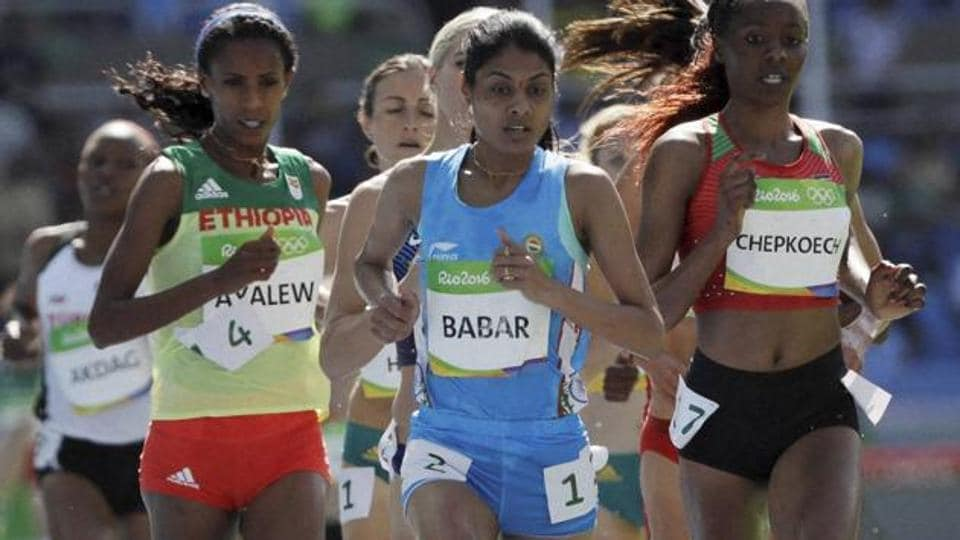 Lalita Babar,Federation Cup,athletics