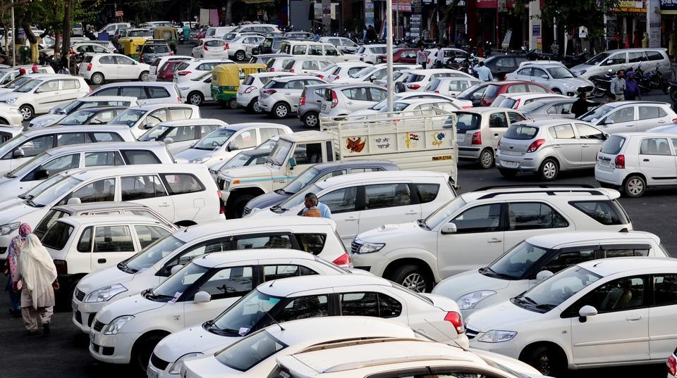 Chandigarh,parking fee doubled,April 1