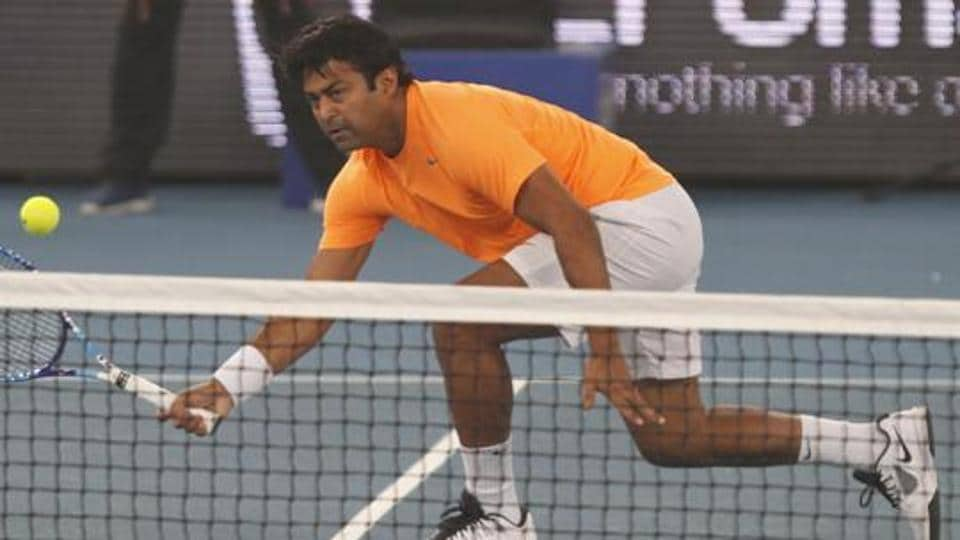 Leander Paes was playing his 97th ATP tour final at Dubai Open.