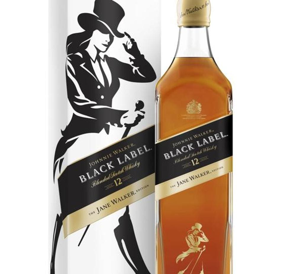 Diageo plans to roll out a Jane Walker edition of Johnnie Walker for a limited run