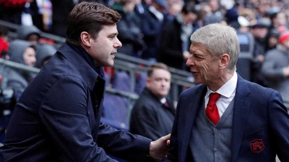 Mauricio Pochettino avoided criticising Arsene Wenger but said that he does not want to overstay his welcome at Tottenham Hotspur.