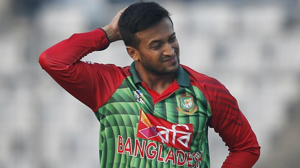 Shakib is out of Lanka tri-series