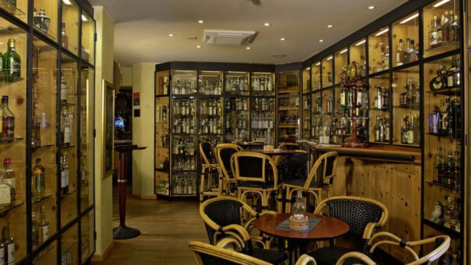 The bar is now 22 years old and has entered the Guinness Book of World Records for its collection that ranges from blended whisky and Scotch to bourbon and single malts.