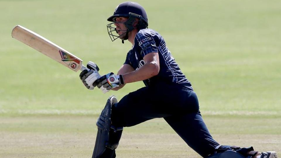 Calum MacLeod guided Scotland to victory against Afghanistan in their ICC World Cup qualifier match on Sunday.