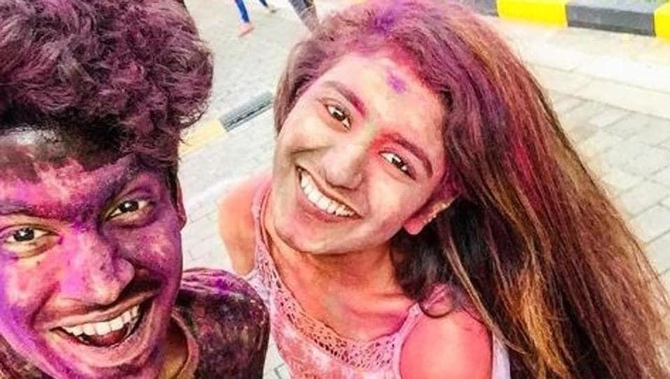 Priya Prakash Varrier and Roshan Abdul Rahoof star in the film, Oru Adaar Love.