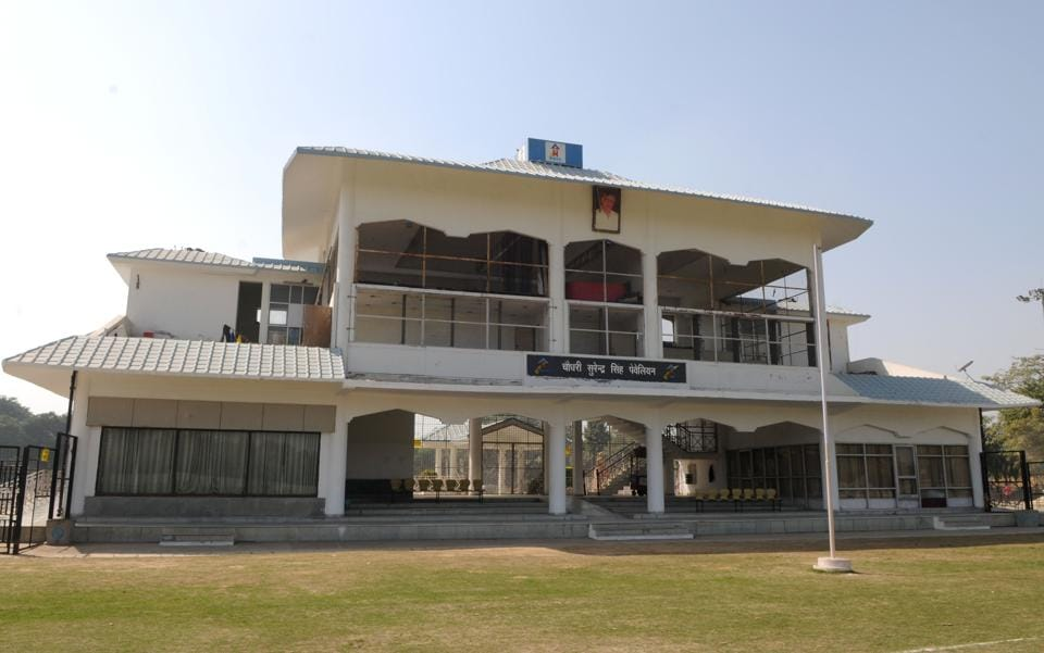 According to the Huda officials, when the venue was chosen to host seven league matches of the ICL in its second and last season, almost ten years ago, heavy investment was made to refurbish the stadium. Six floodlights were erected and dressing rooms were fitted with air conditioners.