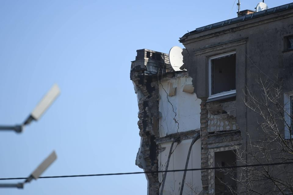 Poland,Poznan,Building Collapse