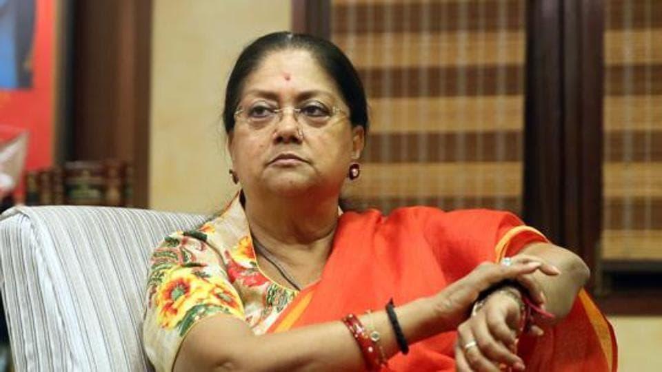 Vasundhara Raje,Rajasthan assembly polls,BJP