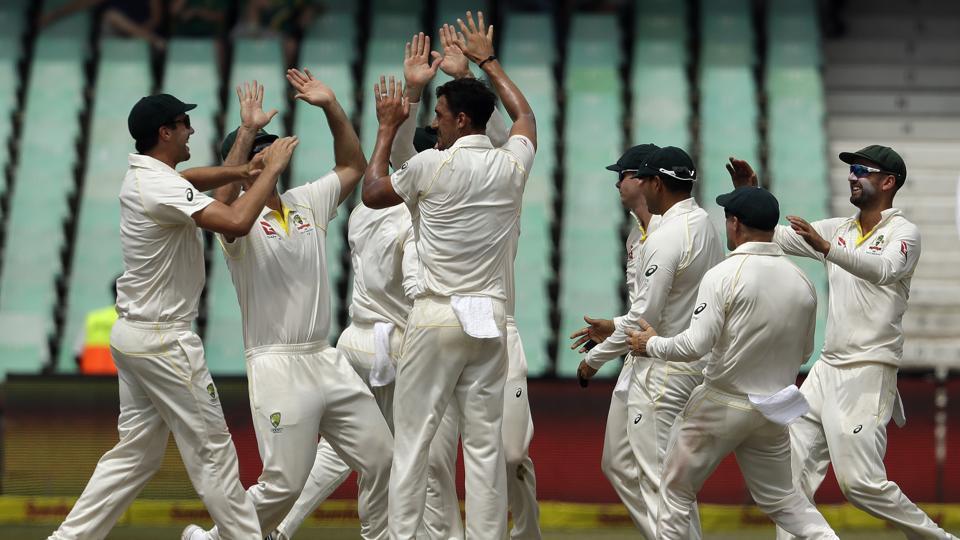 Live cricket score,South Africa vs Australia,1st Test
