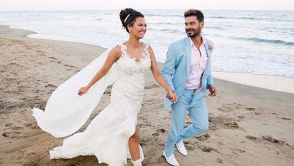 Keith Sequeira, Rochelle Rao married in Mahabalipuram on Saturday.