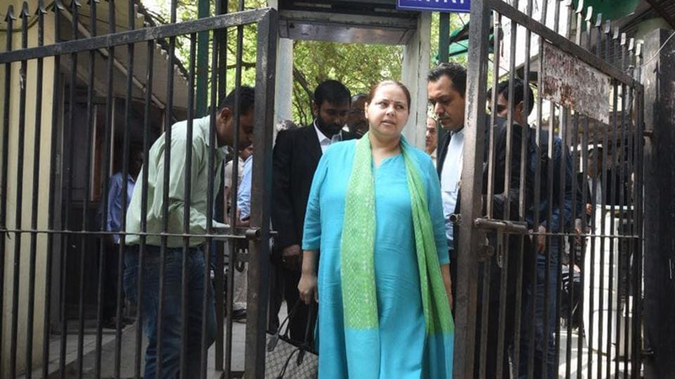 Laundering case: Bail for Misa Bharti, husband