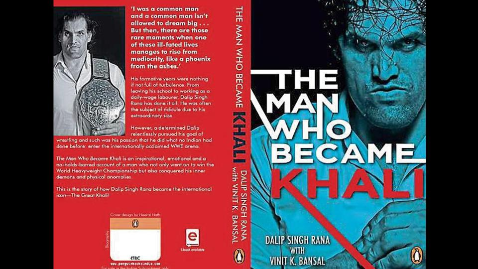 """Vinit Kumar Bansal, co-author of Khali's biography """"The Man Who Became Great Khali"""" has accused Khali of signing a contract with a company without paying him any royalty."""