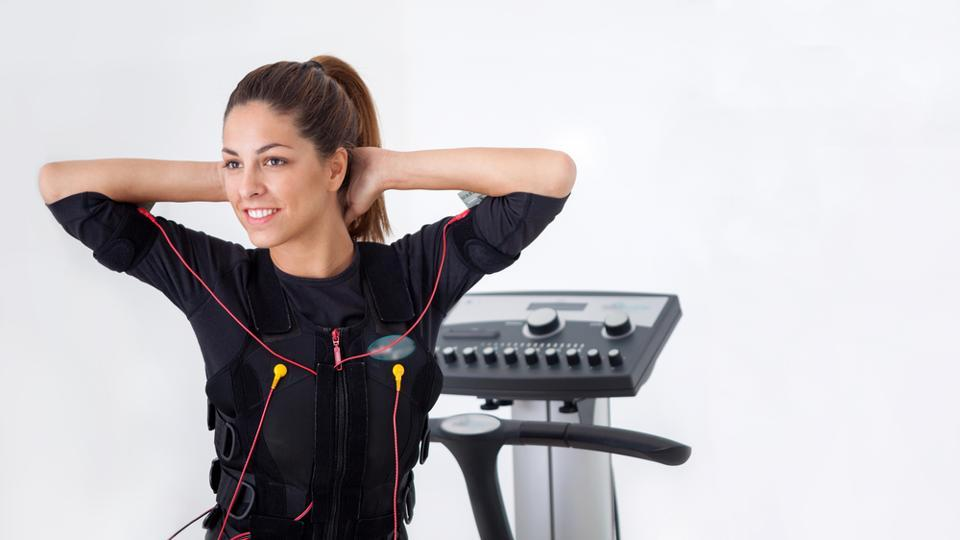 Electronic Muscle Stimulation involves a machine delivering a painless current to your skin, affecting your muscles and nerves.