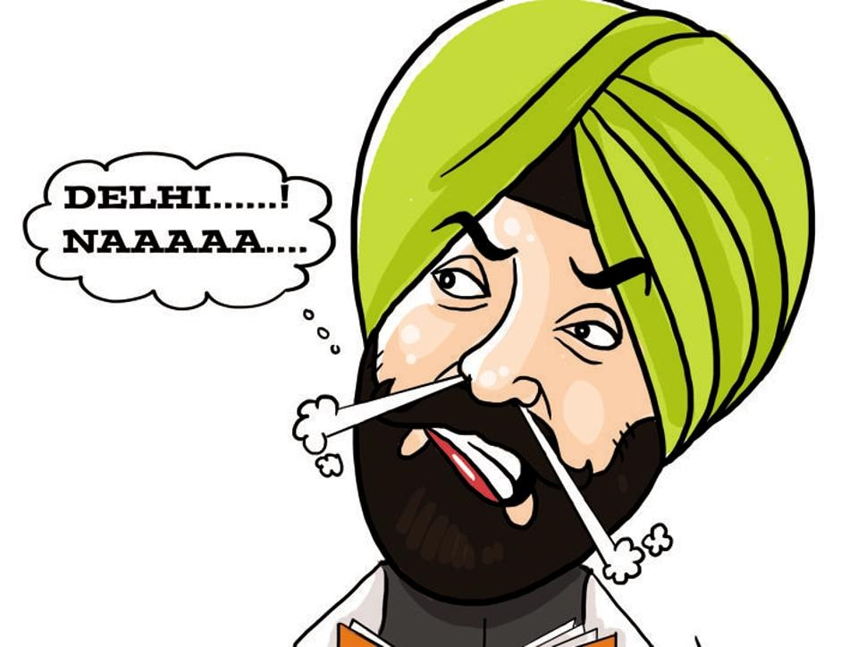 When Khaira, leader of opposition in Punjab assembly, at a recent press conference asked Amarinder to disband his army of advisers and officers on special duty, a scribe wanted to know the AAP leader if he would offer the same advice to Delhi chief minister Arvind Kejriwal.