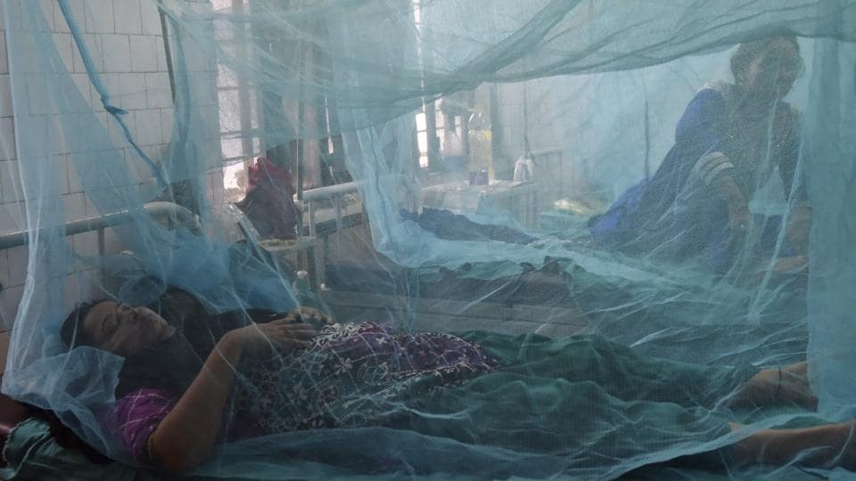 File photo of the dengue and chikungunya ward at Aruna Asaf Ali Hospital in New Delhi.