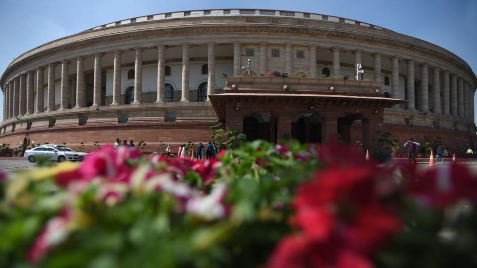 The second part of the budget session of Parliament began on Monday with the issues of the Punjab National Bank (PNB) fraud and Special Category Status to Andhra Pradesh creating pandemonium and causing multiple adjournments. Both houses were adjourned until 11 a.m March 06. (Sonu Mehta / HT Photo)