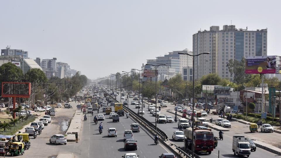 Construction of the 5km elevated road is tipped to reduce congestion on Sohna road.