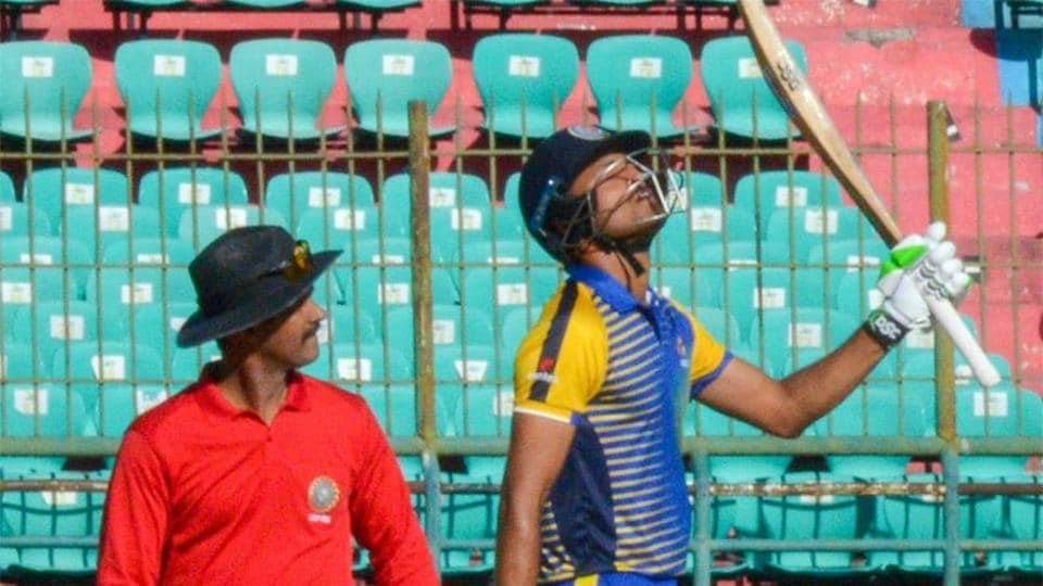 Pavan Deshpande's 95 helped Karnataka beat India A by 65 runs to enter the final of the Deodhar Trophy.