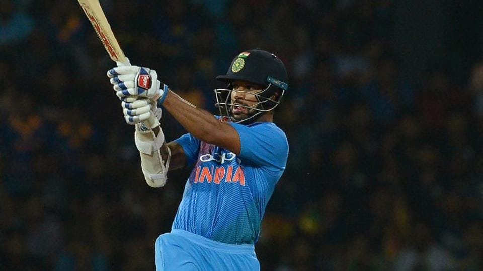 Shikhar Dhawan scored his fifth Twenty20 International fifty but it went in vain as Sri Lanka beat India by five wickets in the opening game of the Nidahas Trophy 2018 inColombo.