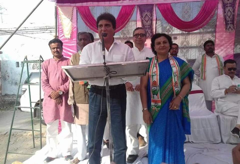 SP BSP alliance,Raj Babbar,Communal forces