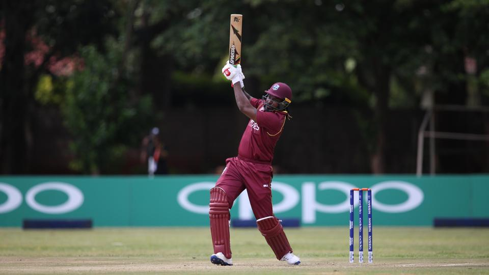 Chris Gayle clubbed 11 sixes and seven fours in an electrifying 91-ball 123 as the West Indies defeated the UAE by 60 runs in their opening group A fixture of the ICC World Cup Qualifiers on Tuesday.