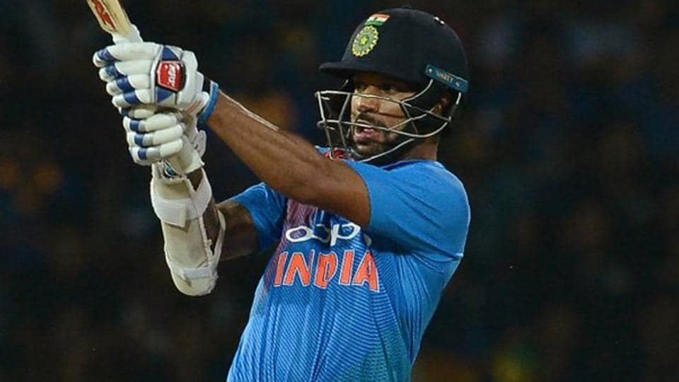 Shikhar Dhawan was the top scorer for India with a 49-ball-90. (Twitter)