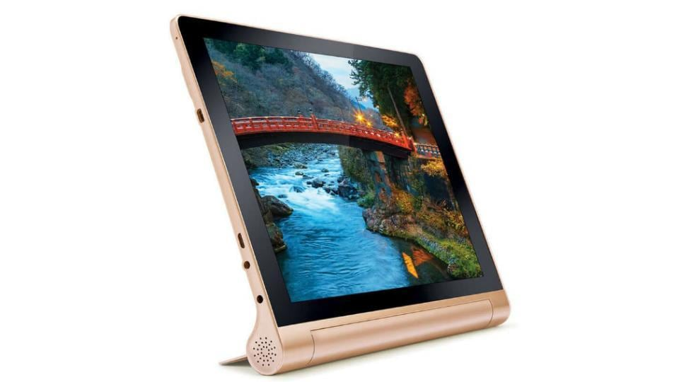 iBall Brace-XJ is available in bronze gold colour.